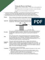 5-Lab Report Format