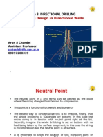L8-Drill String Design in Directional Wells
