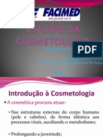 AULA 1 - Cosmetologia