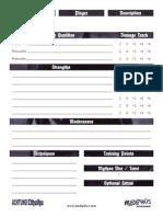 Achtung Cthulhu - PDQ Sheet v1