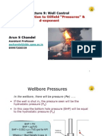 L9- Oilfield Pressures & D-exponent [Compatibility Mode]