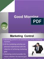 Marketing Control