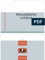 Pensamiento Vertical vs Lateral