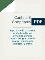 Cantata 3 Cooperativa