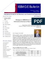 ISSMGE Bulletin Volume 4 Issue1