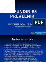 ACCIDENTE CAIDA EN ALTURA