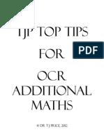 Add Maths Rev Guide