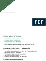 Ingneieria Conceptual, Basica y Detalle
