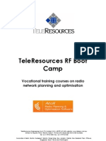 TeleResources RF Boot Camp 2012 November