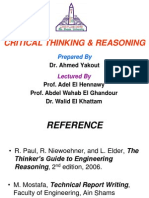Critical Thinking & Reasoning