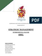 Environmental Analysis at ODEL