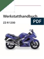 33351804 Werkstatthandbuch Kawasaki ZZ R 1200 German