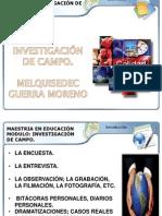 Investigacion de Campo y Calidad Total