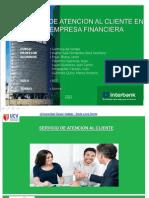 Atención al Cliente en una Empresa Financiera
