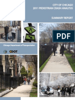 2011 Pedestrian Crash Analysis Summary Report