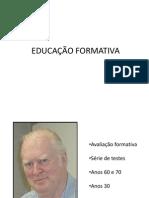 EDUCAÇÃO FORMATIVA
