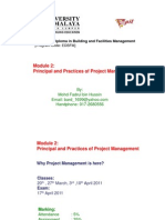 Project Management Lecture Note 1