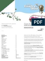 Flower Show Brochure 2013
