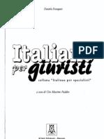Italiano Per Giuristi Collana Italiano Per Specialisti_Daniela Forapani