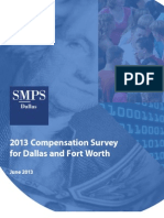SMPS Dallas - 2013 Compensation Survey for Dallas and Fort Worth