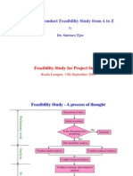 Project Management Lecture Note 3 - Feasibility Study
