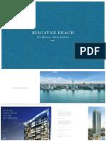 Biscayne Beach Miami condos brochure