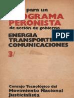 Energia Transporte Comunicaciones
