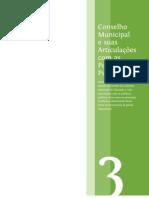 Conselho Municipal e a articulação com as políticas publicas
