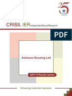 CRISIL - Ashiana Housing Ltd. - New Launches Expected to Boost Bookings in H2FY13 (2QFY13 RU)