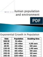7238.Chapter 7. Human Population and the Environment