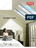 Velux ResidentialProductSizes