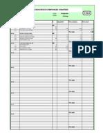 Tableau Budget Avec Frais De Chantier Version Définitive Exemple 2