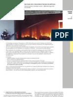 La Protection Incendie Par Les Constructions en Bton