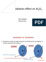Electron Irradiation Effect on Al2O3