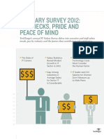 IT Salary Survey 2012 Final