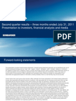 Bombardier Q2-C2011 Presentation 20110831