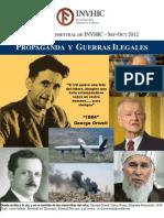 7º Boletín Bimestral de INVHIC [Sep-Oct 2012]_Propaganda y Guerras Ilegales