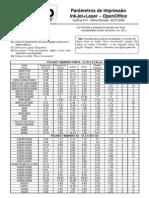 CodFax 014 - Parâmetros de Impressão InkJet+Laser - OpenOffice