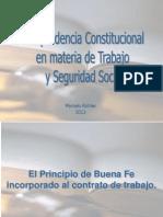 Jurisprudencia Constitucional Clase 1