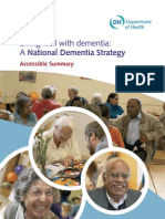 Dementia Strategy Summary