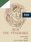 (Cistercian Studies ) Bede the Venerable_ Dom David Hurst-Commentary on the Seven Catholic Epistles of Bede the Venerable-Cistercian Publications (1985)