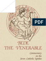 (Cistercian Studies ) Bede the Venerable_ Dom David Hurst-Commentary on the Seven Catholic Epistles of Bede the Venerable-Cistercian Publications (1985)
