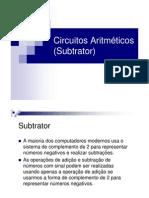 CircuitoAritmetico(subtrator)