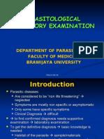 Lab Examination parasitology unibraw