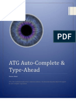 ATG Auto-Complete & Type-Ahead