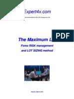 Maximum Lot Course March 10