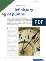A Brief History of Pumps