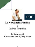 La Verdadera Familia y La Paz Mundial
