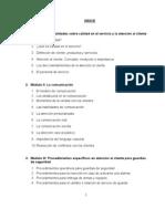 Manual Atencion Al Cliente Garita de Control San Cristobal