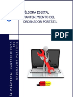 Manual Curso Mantenimiento Ordenador Portatil